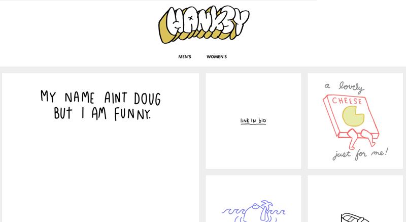 Hanksy Artist Shop