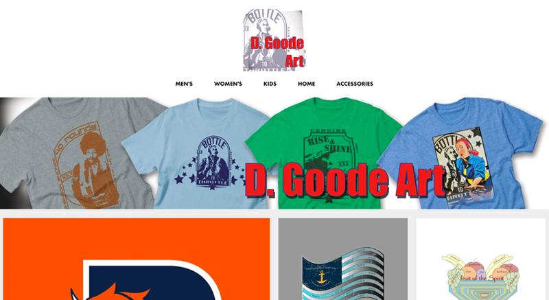 D Goode Artist Shop