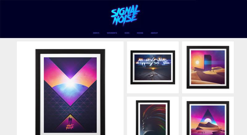 Signal Noise Artist Shop