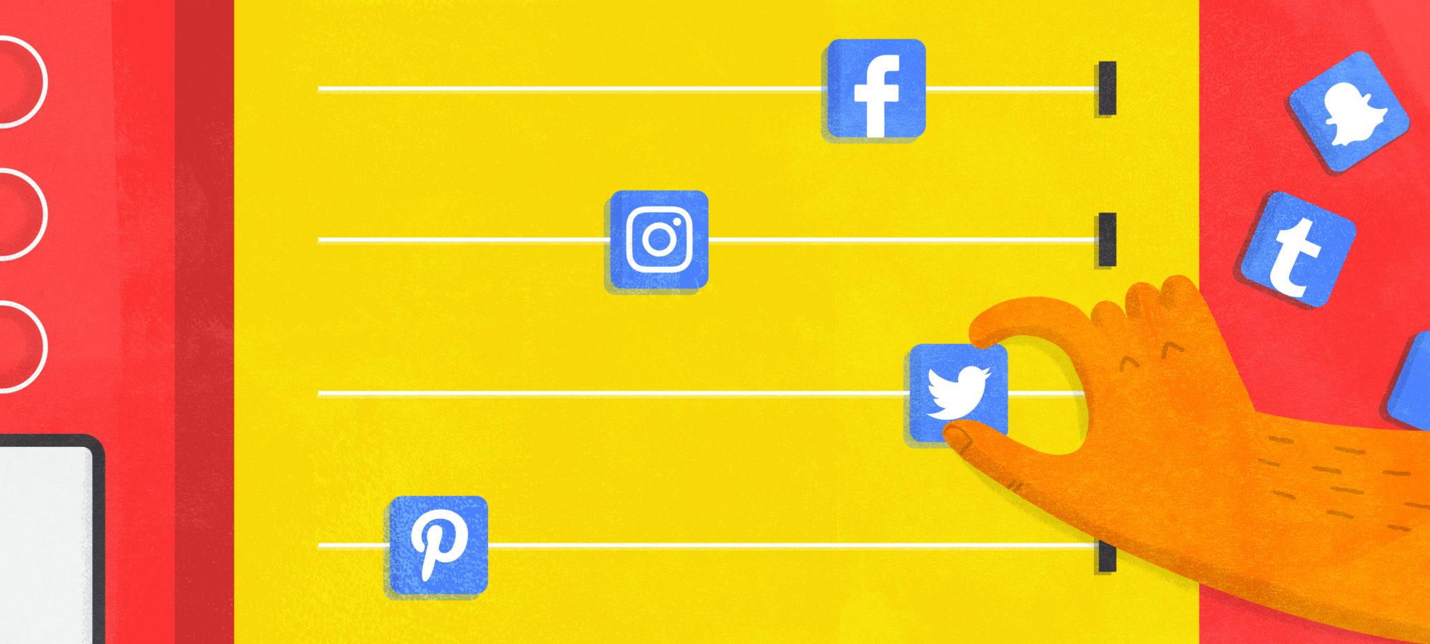 how to create a social media calendar