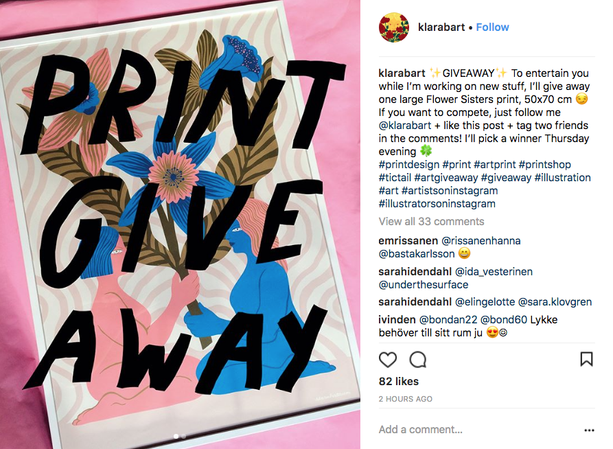How to Run a Social Media Giveaway - Creative Resources
