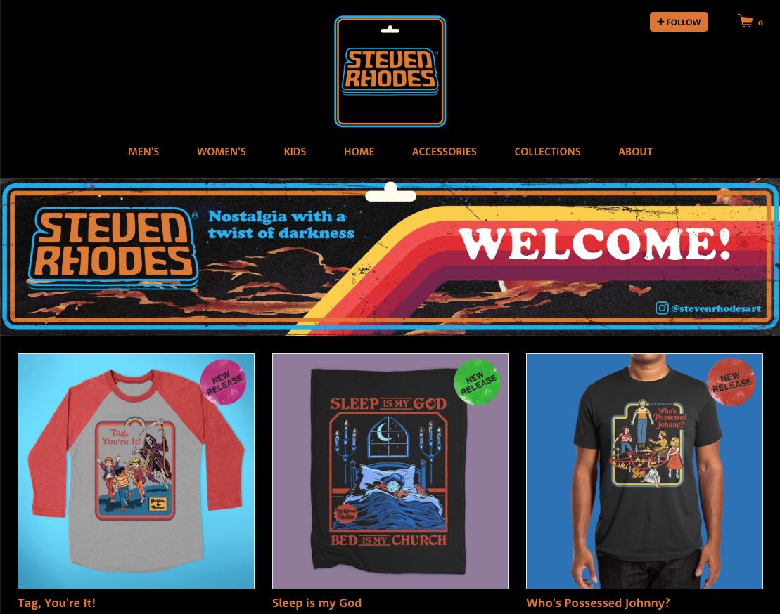 Steven Rhodes' Artist Shop
