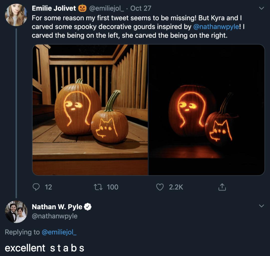 Nathan Pyle's tweet