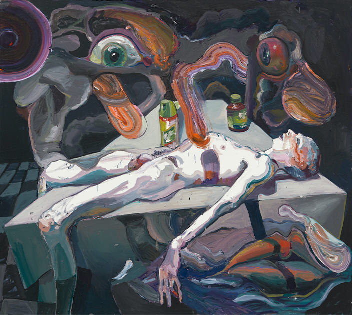 Still life after the virus by Ben Quilty