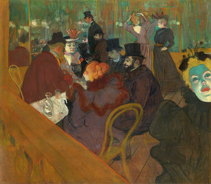 At the Moulin Rouge, The Dance by Henri de Toulouse-Lautrec