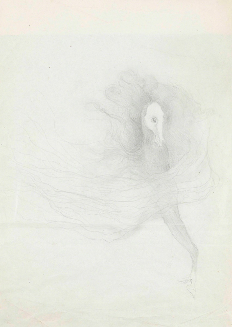 Femme Cheval by Leonora Carrington