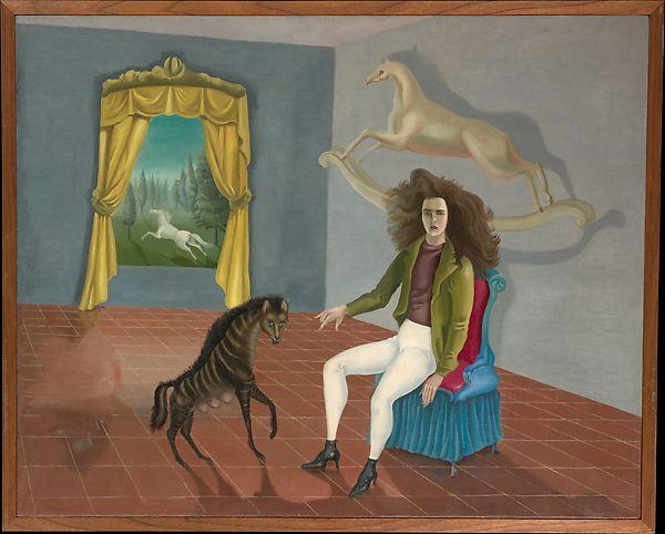 Self-Portrait (Inn of the Dawn Horse) by Leonora Carrington