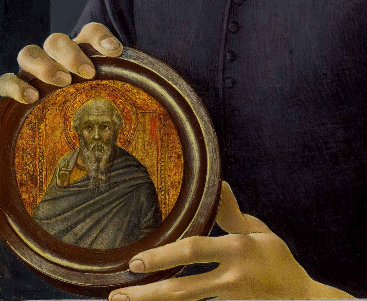 "The Mysterious Roundel in Botticelli's ""Portrait of a Young Man Holding a Roundel"""