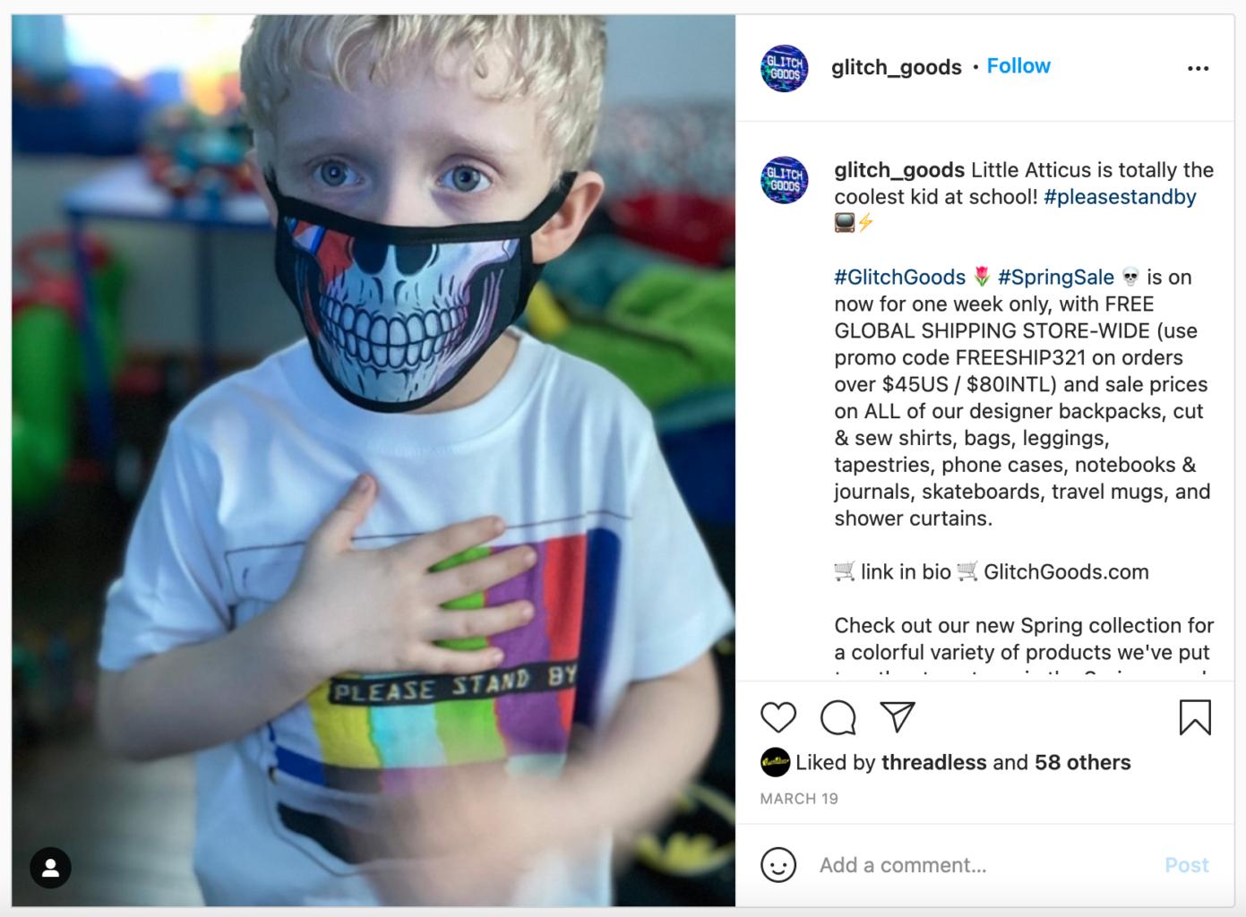 Glitch Goods by Rob Sheridan Instagram