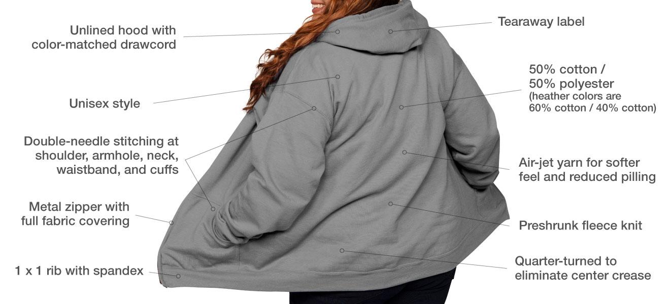 Classic Fleece Zip-Up Hoody