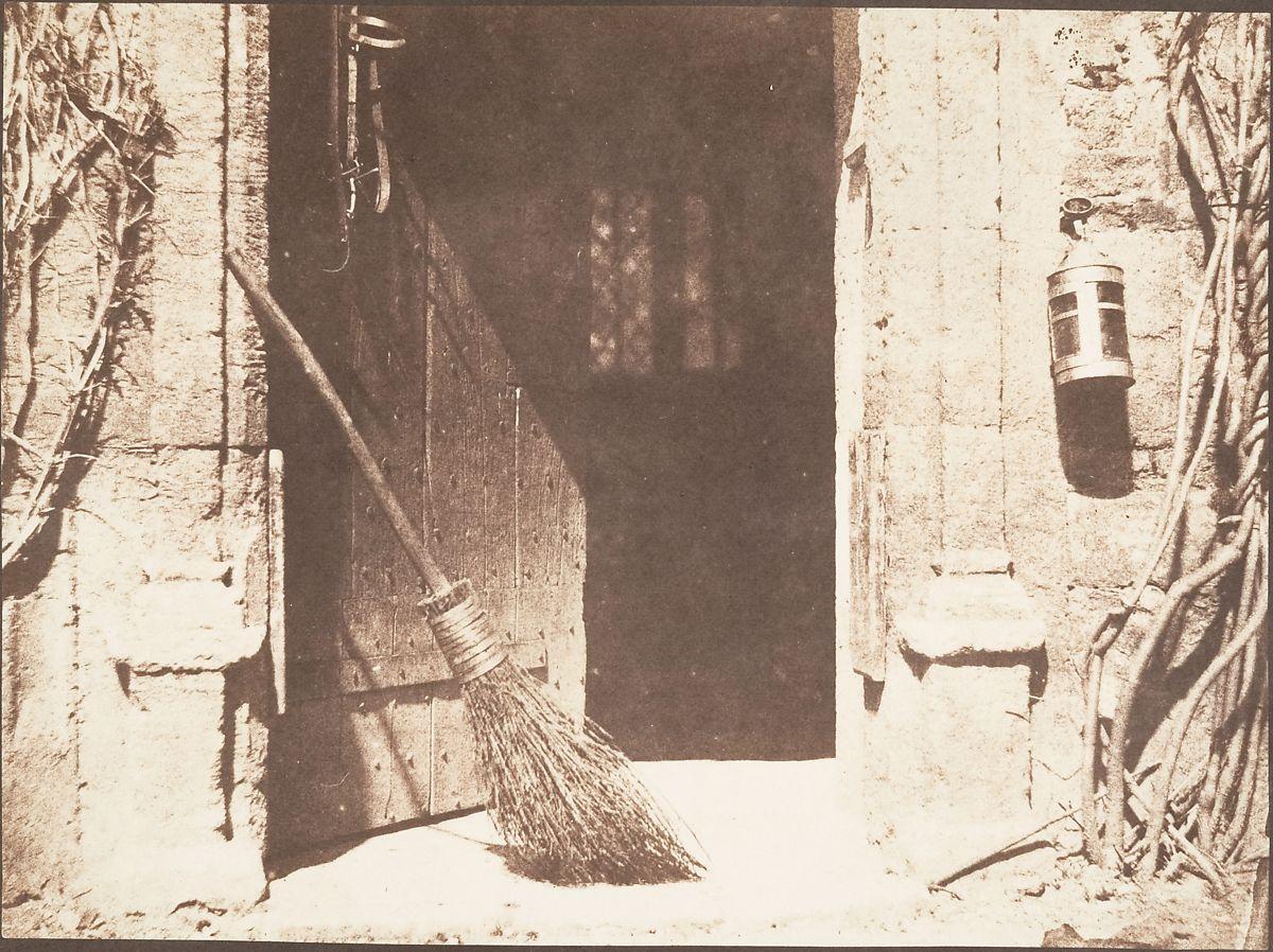 """William Henry Fox Talbot's """"The Open Door,"""" circa 1844"""