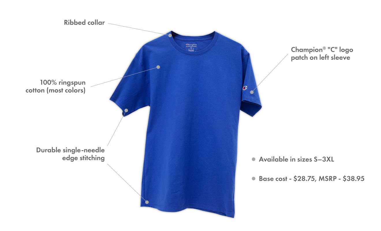 Champion T-Shirt Education